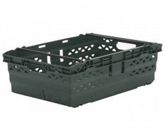 Stackable UltraNest Section Nest Crate Dark Green