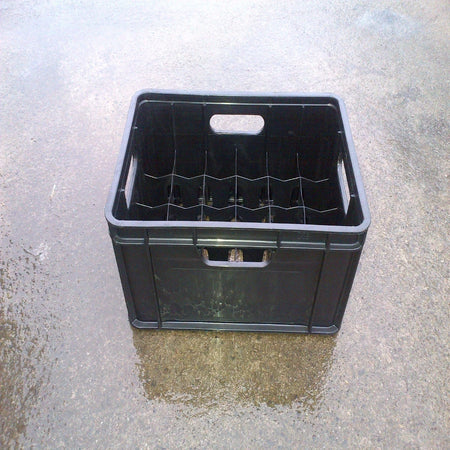 Standard Beer Bottle Crate (Black)