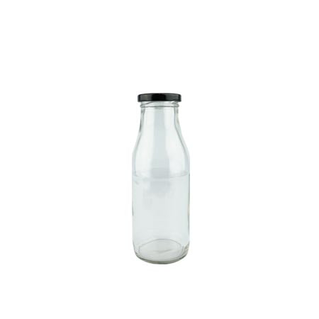"500ml Glass ""Tom"" Milk Bottles"