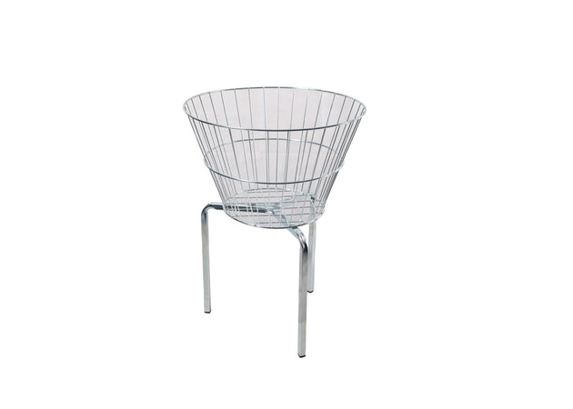 Round Point of Sale Basket & Dump Bin