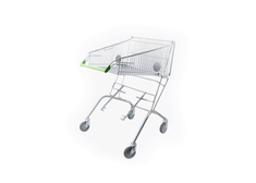 Wheelchair Connectable Shopping Trolley (100 Ltr)