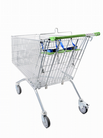 Twin Seated Toddler Shopping Trolley (213Ltr)