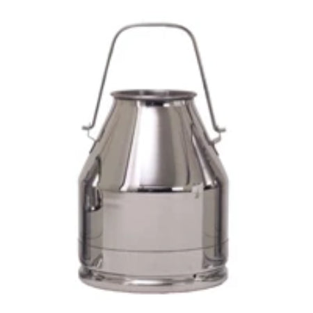 1x 10 Litre Stainless Steel Milk Churn