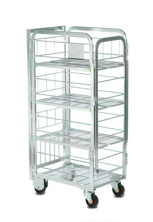 Milk Trolley (4 Tier: 80 x 2 Litres)