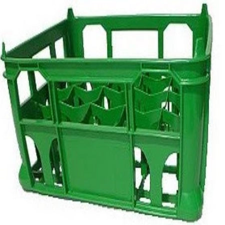 Single Green Strong Lightweight Crate (8.5 Inch)