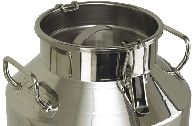 10 Litre Stainless Steel Milk Churn Lid