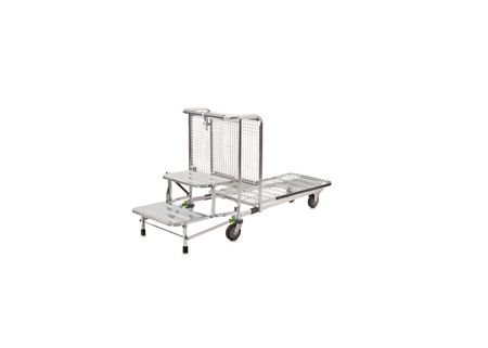 2 Step Stock Merchandise Picking Trolley