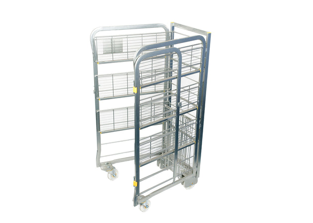 Milk Trolley (4 Tier: 80 x 2 Litres) Open