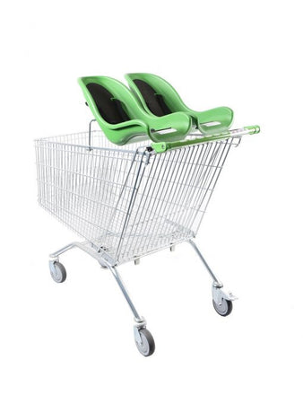 Twin Baby Cradled Shopping Trolley (213Ltr)