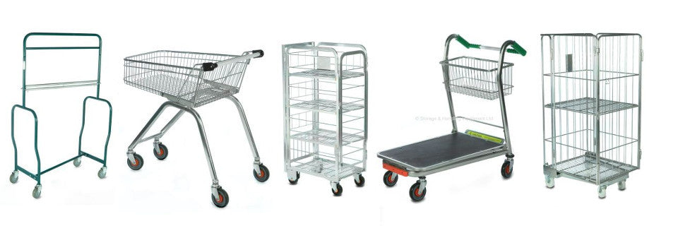 Milk Crates, Trolleys & Containers