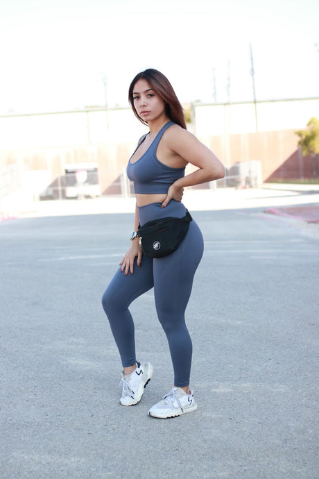 Rival Leggings-Cobalt