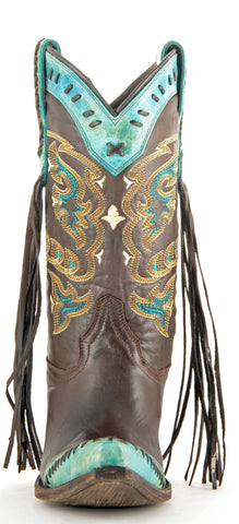 Lucchese Women's Turquoise Crater Boot M5022