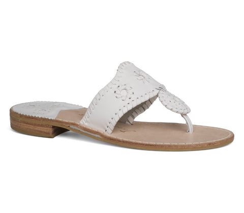 Jack Rogers Palm Beach Navajo White