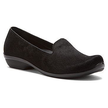 Dansko Olivia Black Hair Calf