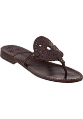 Jack Rogers Georgica Sandal Dark Brown