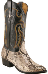 Lucchese 1883 Western Exotic Python M3039