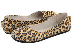 French Sole Sloop Leopard Suede Flats