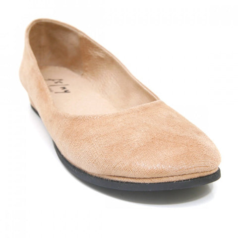 French Sole Zeppa Beige Cartizze