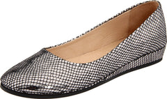 French Sole Zeppa Pewter