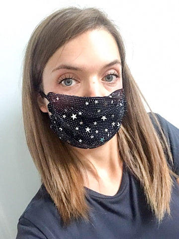 Shimmer Star Face Mask