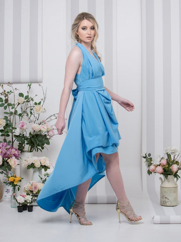 Sky Blue Emma Maxi Dress