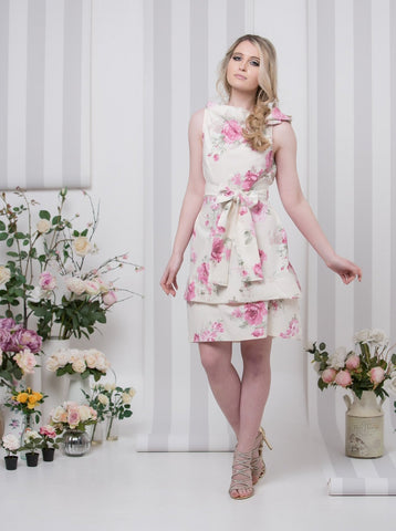 Pink Rose Garden Bradley Dress