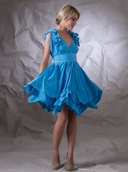 Sky Blue Georgie Dress