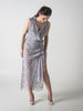 Silver Grey Lace Willow Dress