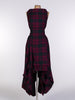 Maroon and Green Tartan Wendy Dress
