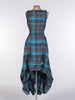 Turquoise Tartan Wendy Dress