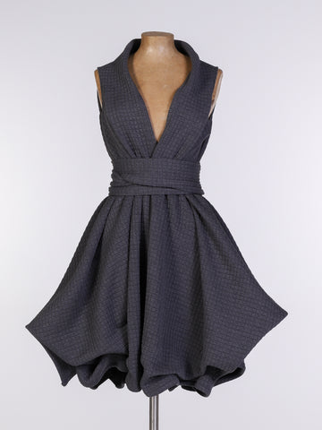 Grey Sports Luxe May Dress