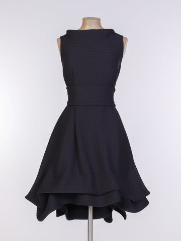 Black Sports Luxe Mia Dress