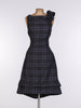 Grey Tartan Anna Dress