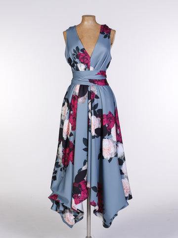 Amara Blue Darcy Dress