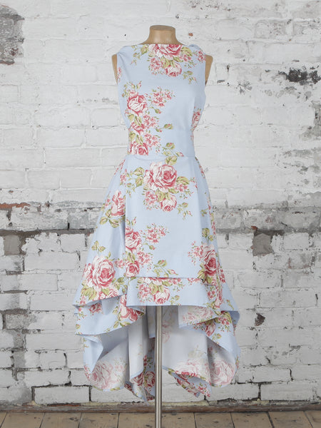 Blue Flora Wendy Dress