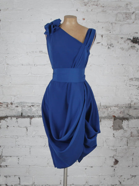 Royal Blue Taylor Dress