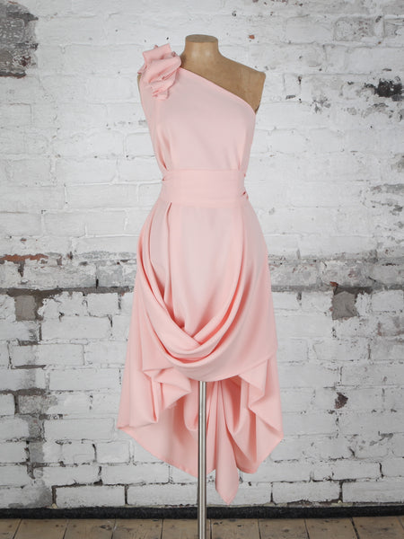 Peach Ruffle Jessie Dress