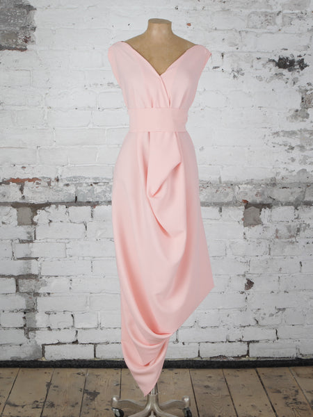 Peach Poppy Dress