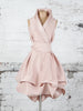 Blush Trench Dress