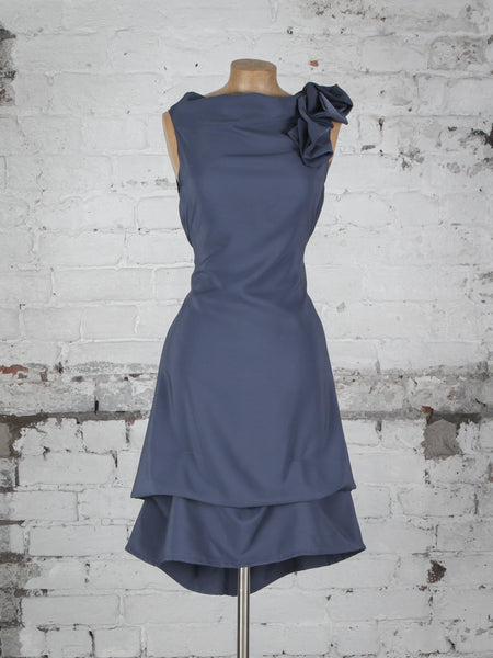 Gunmetal Anna Dress