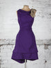 Purple Sequin Anna Dress