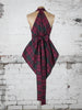 Maroon and Green Tartan Alice Maxi Top