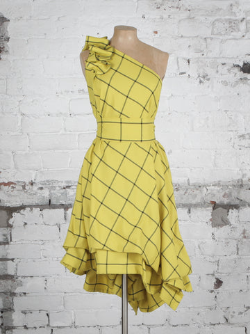 Barclay Check Drew Dress