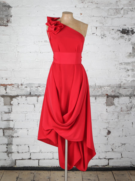 Bright Red Jessie Dress