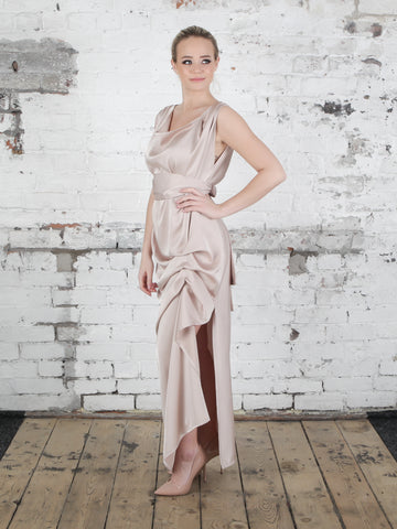 Champagne Willow Dress