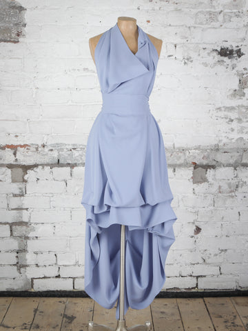 Dusty Blue Alice Maxi Dress