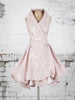 Ocean Rose Trench Dress in Blush