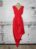 Bright Red Poppy Dress