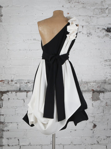 Black and White Dolly Dress