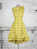 Yellow Barclay Check Mia Mini Dress